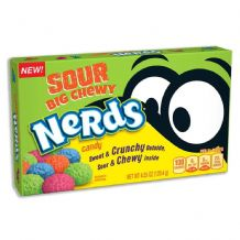 Wonka Big Chewy Sour Nerds Theatre Box 120g